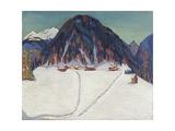 The Junkerboden under Snow  Ca 1936-1938