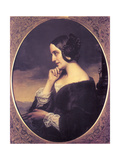 Portrait of Marie DAgoult (1805-187)  1843
