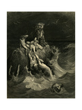 The Deluge (Frontispiece to the Illustrated Edition of the Bibl)  1866