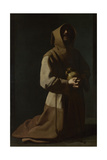 Saint Francis in Meditation  1635-1640