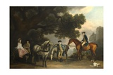 The Milbanke and Melbourne Families  Ca 1769