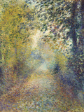 In the Woods, C. 1880 Giclée par Pierre-Auguste Renoir