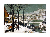 Hunters in the Snow (Winte), 1565 Giclée par Pieter Bruegel The Elder