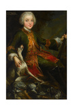 Portrait of Józef Sapieha (1737-179)  C 1740