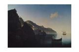 The Coast Near Amalfi  1841