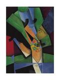 The Smoker (Frank Havilan), 1913 Giclée par Juan Gris