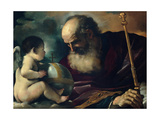 God the Father and Angel  1620
