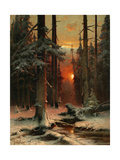 Snow in Forest  1885