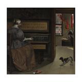 Lady at a Virginal  Ca 1665