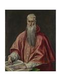 Saint Jerome as Cardinal  1590-1600