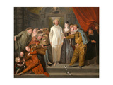 The Italian Comedians  Ca 1720