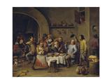 Twelfth Night Party  1650-1660