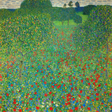 Poppy Field, 1907 Giclée par Gustav Klimt