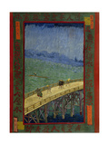 Bridge in the Rain (After Hiroshig)  1887