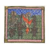 Apocalypse  Detail: Demons Falling from Heaven  Ca 1370-1375