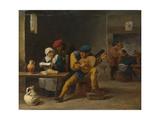 Peasants Making Music in an Inn  C 1635