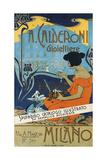Jeweller A. Calderoni (A. Calderoni Gioiellier), Milano, 1898 Giclée par Adolfo Hohenstein