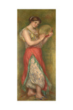 Dancing Girl with Tambourine  1909