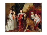 Five Eldest Children of Charles I  1637