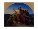 Moses, Aaron and Hur, 1837 Giclée par Alexander Heubel