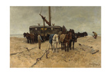 Fishing Boat on the Beach  1882
