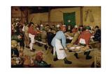 The Peasant Wedding  Ca 1568