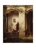 Turkish Children at a Fountain  1846