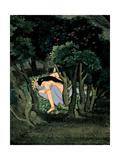 Krishna Embraced by Radha  Ca 1775