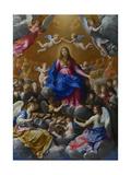 The Coronation of the Virgin  1607