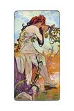 Summer, 1899 Giclée par Alphonse Mucha