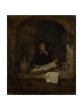 An Old Woman with a Book  C 1660