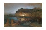 Fireworks in Naples  1875