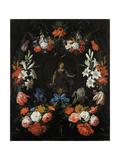 Garland of Flowers  Ca 1675
