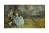 Mr and Mrs Andrews  1750