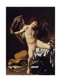 Cupid as Victor  Ca 1601