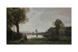 Seine Landscape Near Chatou  1885