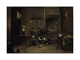Monkeys in the Kitchen  1640S