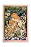 L'Ermitage  Revue Illustrée  Poster  1897