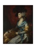 Portrait of Sarah Siddons  1785