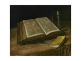 Still Life with Open Bible  1885
