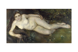 A Nymph by a Stream  1869-1870