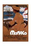 Monaco: Exposition De Canots Automobiles, 1900 Giclée par Adolfo Hohenstein