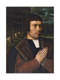 Portrait of a Man Praying