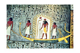 The Sun God Ra  Boat Scene