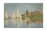 Regattas at Argenteuil  Ca 1872