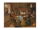 The Merry Family  1668