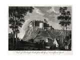 View of Edinburgh Castle  from the Grey Friars Church Yard  18th Century