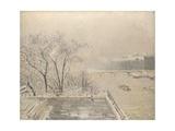 The Louvre under Snow  1902