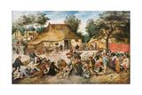 The Peasant Wedding Giclée par Pieter Brueghel The Younger