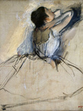 Dancer, C. 1874 Giclée par Edgar Degas